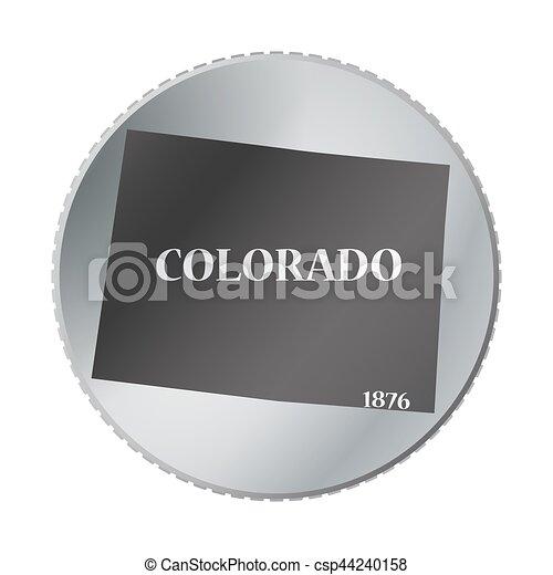Colorado State Coin   Csp44240158