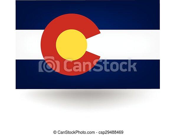 Colorado State Flag - csp29488469