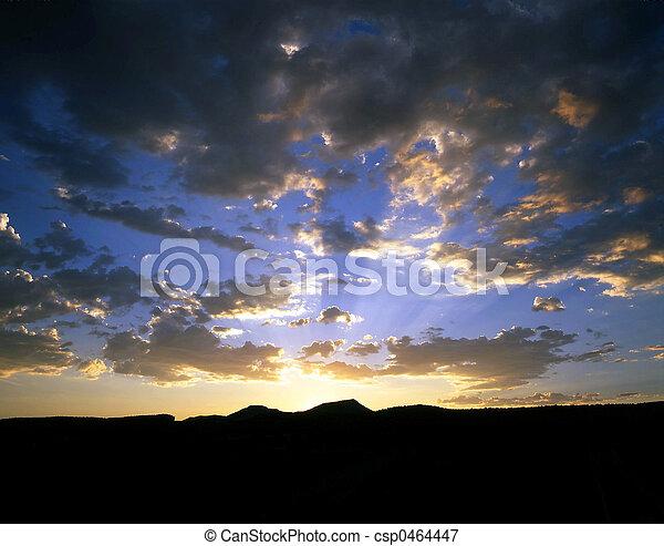 Colorado Sunset - csp0464447