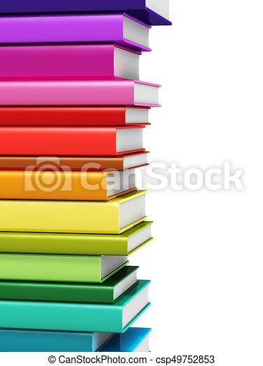 Colorare Libro Copertina Dura Libri Render Scuola Colorare
