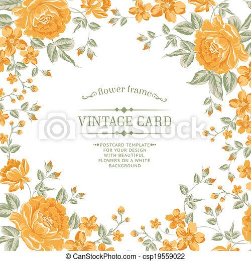 colorare, pattern., peonia, lussuoso - csp19559022