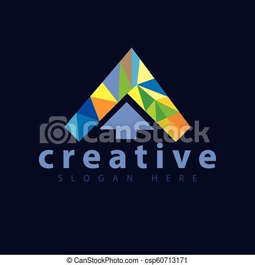 colore freccia, vettore, sagoma, logotipo, icona - csp60713171