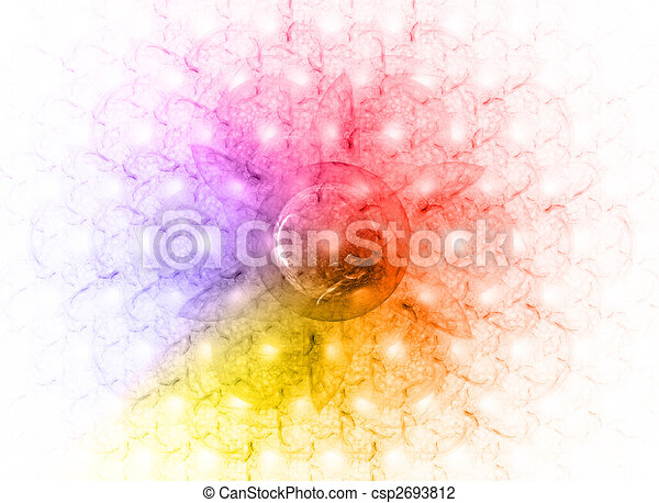 Colored background. - csp2693812