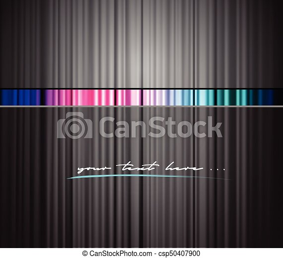 Colored background with place for your text. - csp50407900
