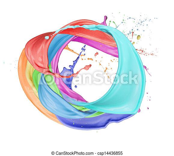 Colored circle - csp14436855