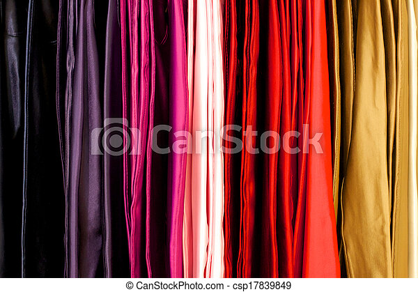 Colored Cloth - csp17839849