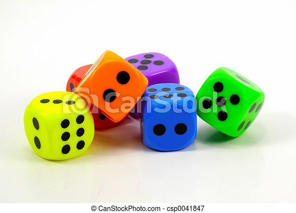 Colored Dice 3 - csp0041847