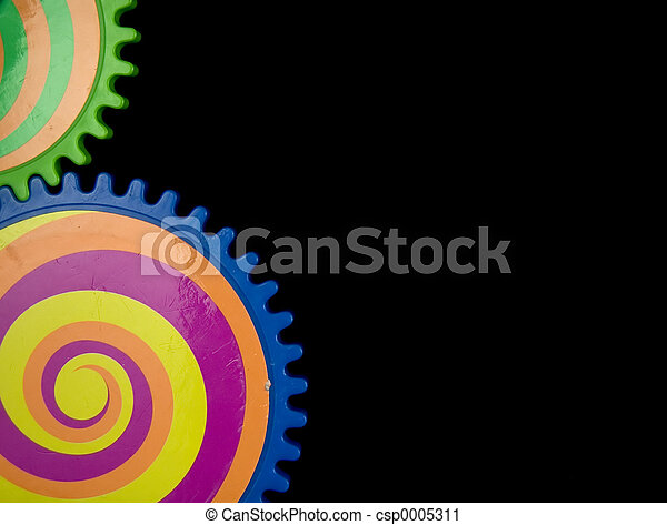 Colored Gears - csp0005311