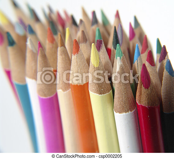 Colored Pencils 4 - csp0002205