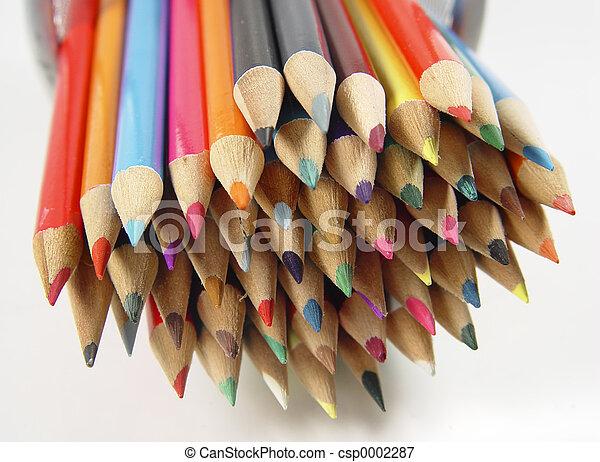 Colored Pencils 8 - csp0002287