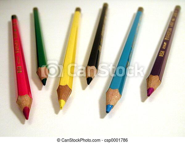 Colored Pencils - csp0001786