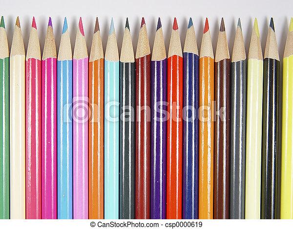 Colored Pencils - csp0000619