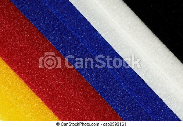 Colored Velcro - csp0393161