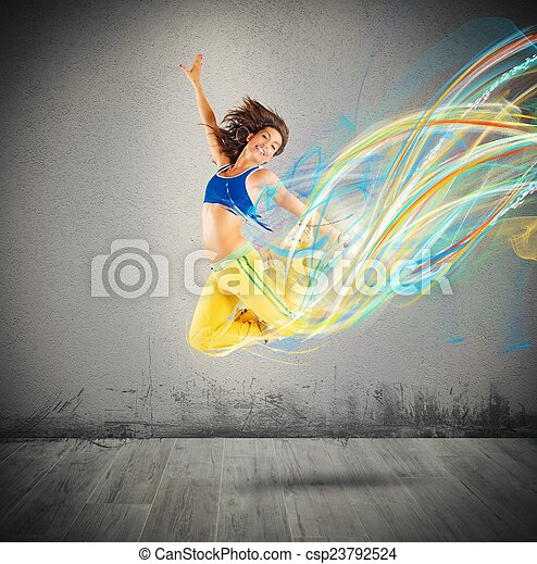 Colores de bailarina - csp23792524