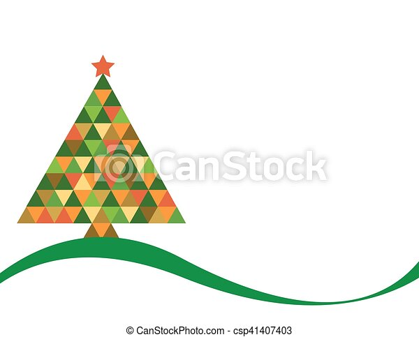 Colores Del Arco Iris Arbol Navidad
