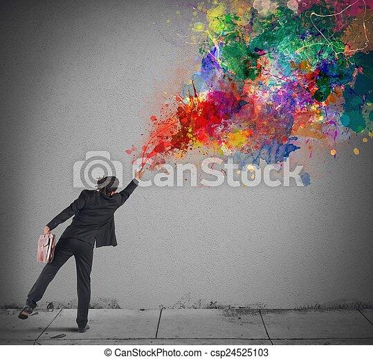 Colores con spray - csp24525103