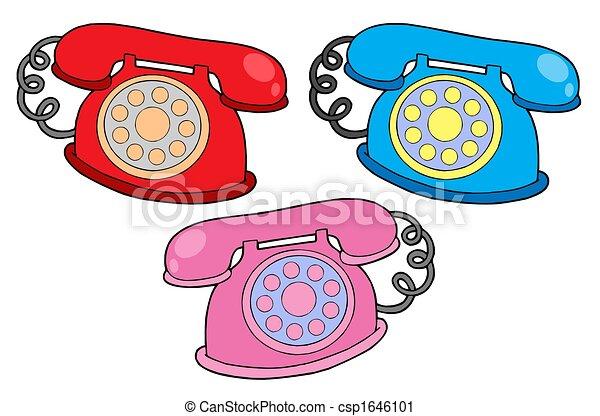 colores, vario, teléfonos - csp1646101