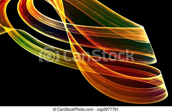 Colorful 3D fractal (fantasy,abstract background) - csp2977791