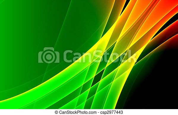 Colorful 3D fractal (fantasy,abstract background) - csp2977443