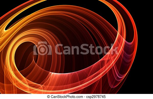 Colorful 3D rendered fractal (fantasy,abstract background) - csp2978745
