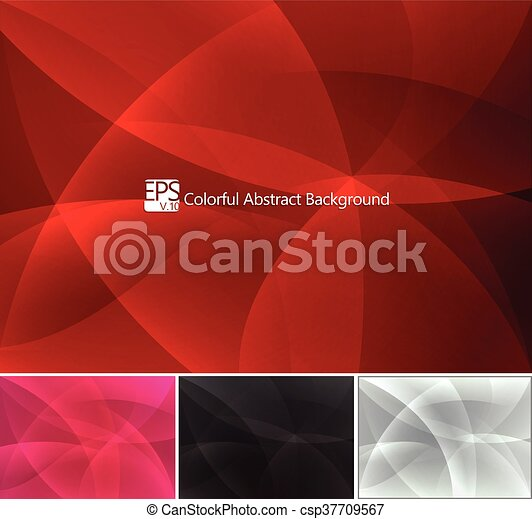 colorful abstract background - csp37709567