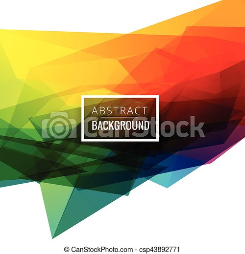 colorful abstract background design - csp43892771