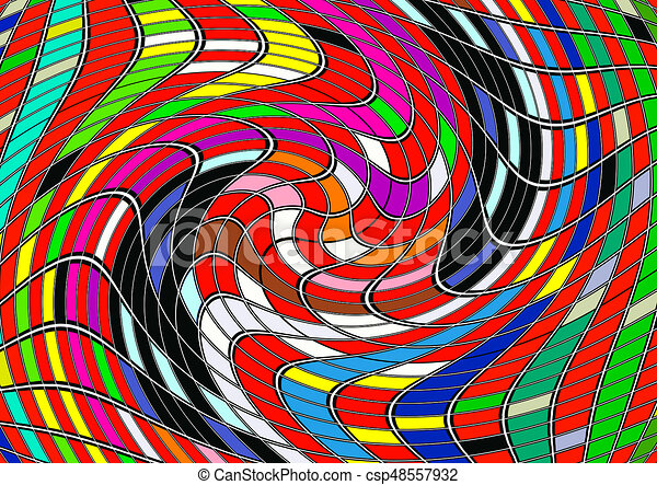 Colorful abstract background. - csp48557932