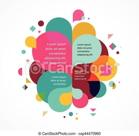 Colorful Abstract Background Poster With Splash Rainbow Color