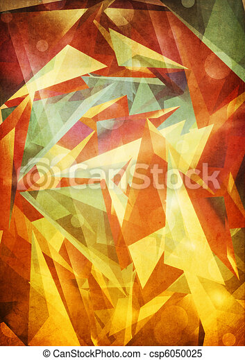 Colorful abstract background - csp6050025