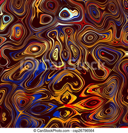 Colorful Abstract Face Background. - csp26796564
