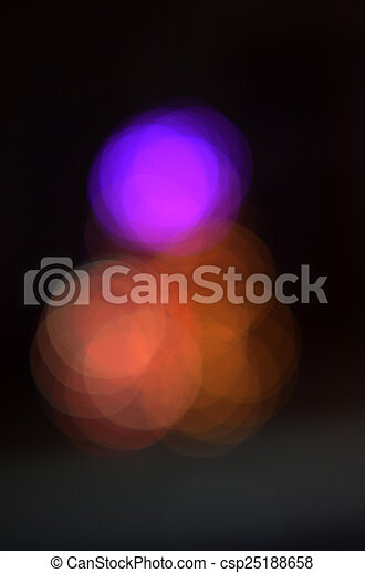 colorful abstract holiday lights - csp25188658