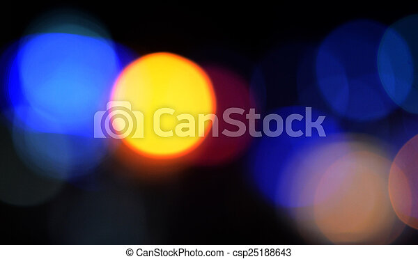 colorful abstract holiday lights - csp25188643