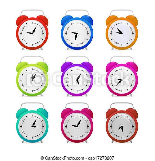 Colorful Alarm Clock Set  - csp17273207