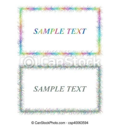 Colorful and black sketch card frame designs colorful and black colorful and black sketch card frame designs csp40063594 colourmoves