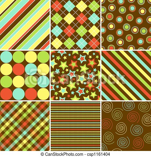Colorful Background Patterns - csp1161404