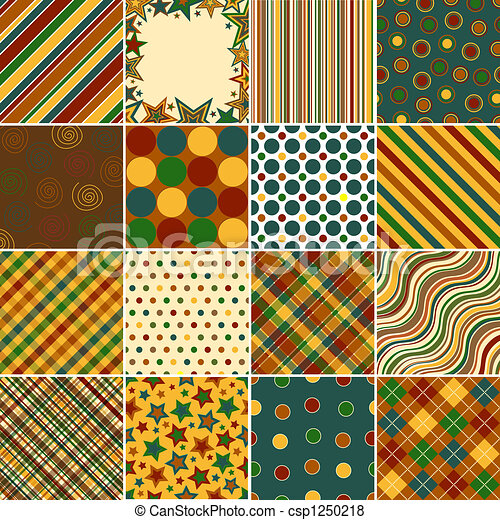 Colorful Background Patterns - csp1250218