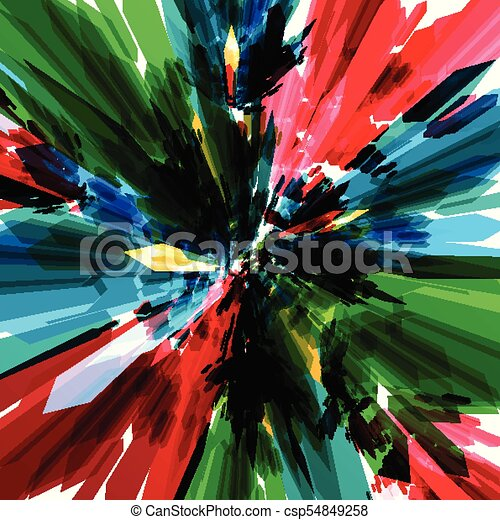 Colorful background, vector - csp54849258