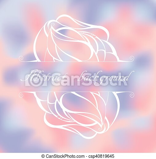 colorful background with pattern. - csp40819645