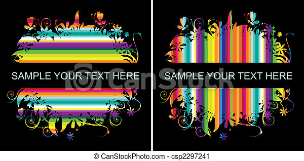 Colorful background with place for your text - csp2297241