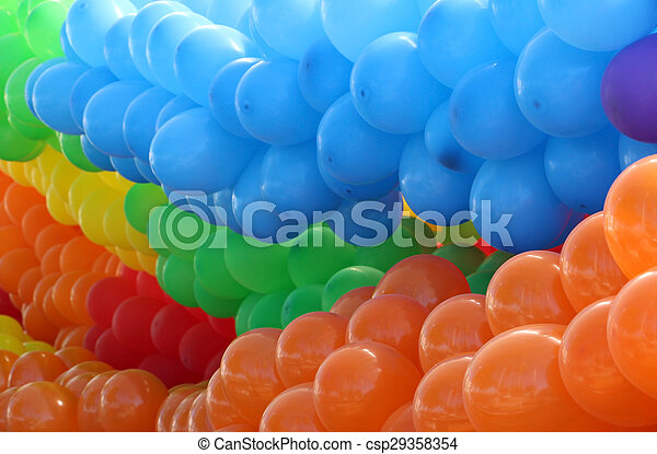 Colorful baloons - csp29358354