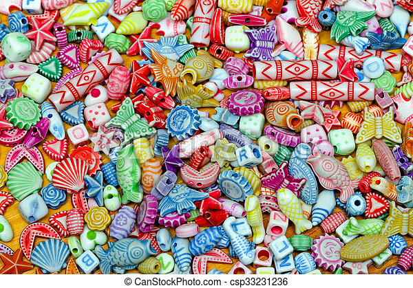 Colorful Beads - csp33231236