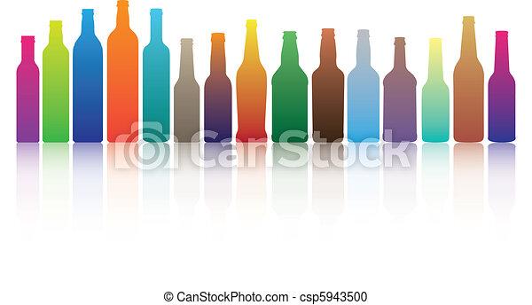Colorful Bottles - csp5943500