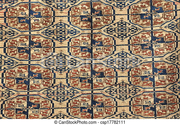 Colorful brown carpet - csp17782111