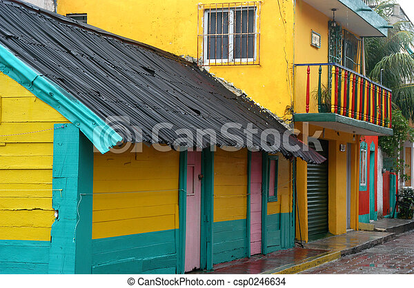 Colorful Building - csp0246634