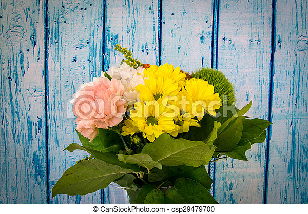 colorful bunch of flowers - csp29479700