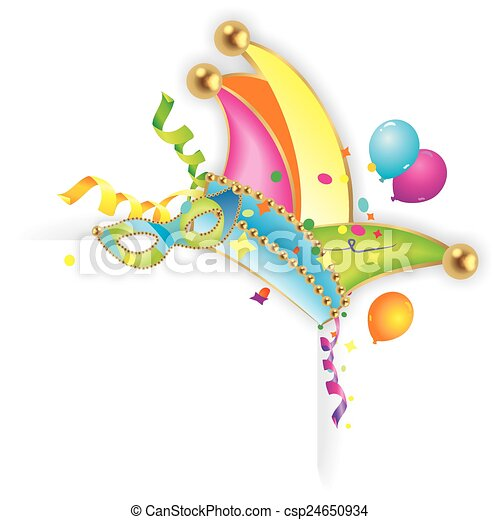 colorful carnival background - csp24650934