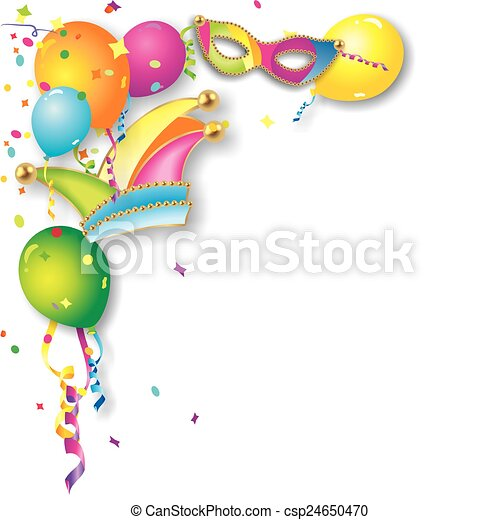 colorful carnival background - csp24650470