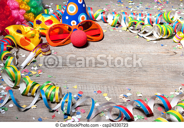 Colorful carnival background - csp24330723