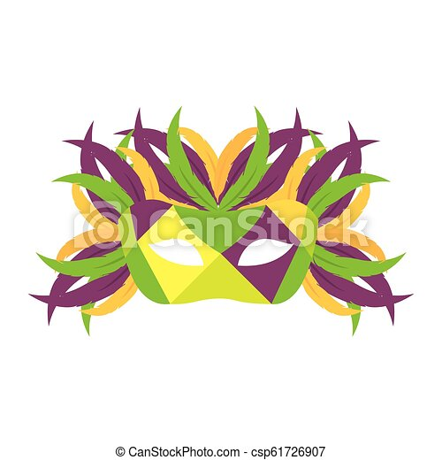 Colorful Carnival Mask - csp61726907