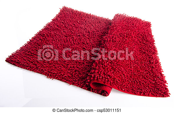Colorful carpet or doormat for cleaning feet - csp53011151